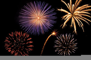 Newyear Firecrackers Clipart Image