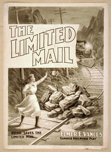 The Limited Mail Elmer E. Vance S Famous Railroad Play. Image