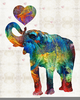 Colorful Elephant Art Image