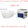 Zetadental Co Uk Ultrasonic Cleaner Ps D A Image