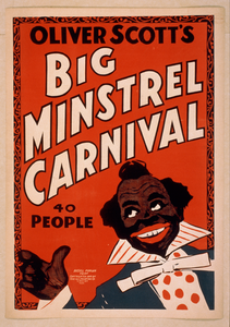 Oliver Scott S Big Minstrel Carnival 40 People. Image