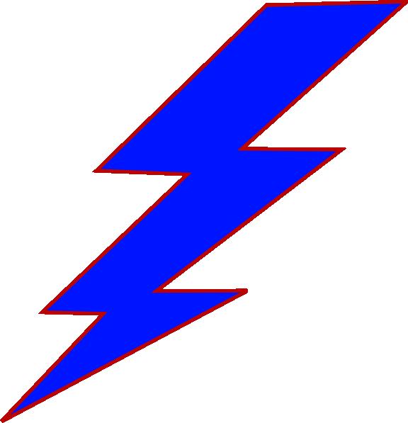blue lightning bolt clip art at clker com vector clip art online
