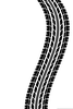 Motorcycle Tire Tread Clipart Image