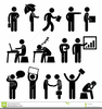 Happy Workplace Clipart Image