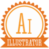B Illustrator Icon Image