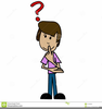 Questioning Man Clipart Image
