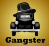 Gangster Car Illustration Clip Art