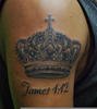 King Crown Tattoo Image