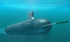 This Conceptual Drawing Shows The New Virginia-class Attack Submarine Now Under Construction At General Dynamics Electric Boat In Groton, Conn., And Northrop Grumman Newport News Shipbuilding In Newport News, Va Image