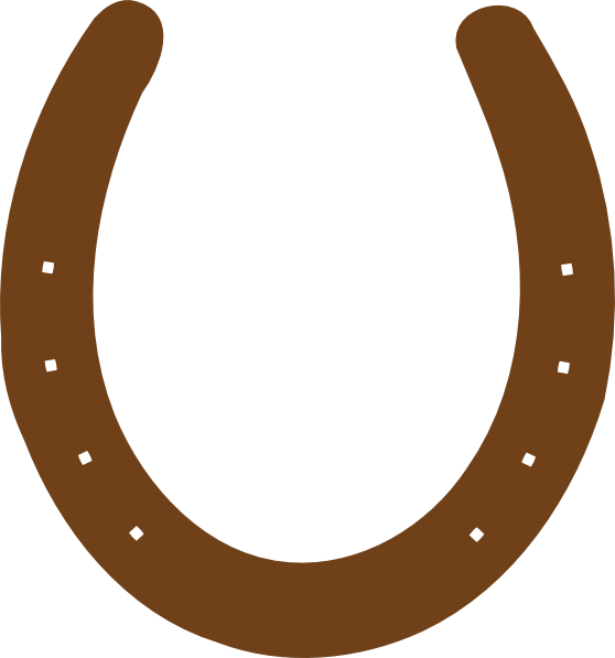 brown horseshoe clip art at clker com vector clip art Horseshoe Game Clip Art Horseshoe Silhouette