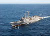 The Guided Missile Frigate Uss Mcclusky (ffg 41) Image