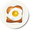 Egg Toast Breakfast Image
