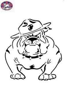 Usmc Bulldog Clipart Free Images At Clkercom Vector Clip Art