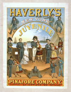 Haverly S New York Juvenile Pinafore Company 50 Artists--50. Image