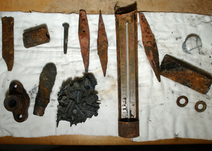 Artifacts Recovered From The Uss Monitor. Image