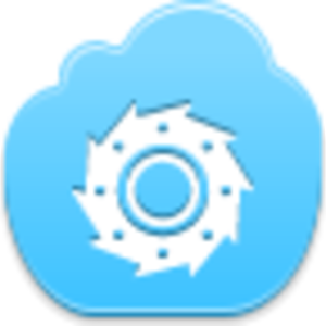 Free Blue Cloud Cutter Image