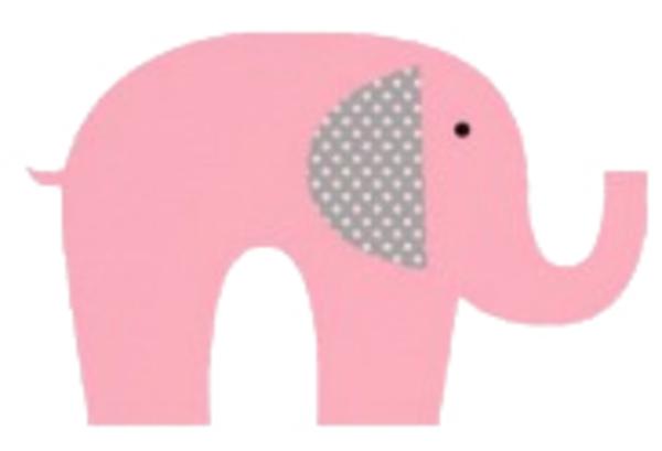 clip art pink elephant - photo #30