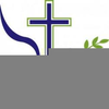 Free Clipart Dove And Cross Image