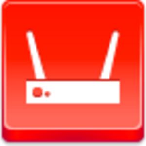 Free Red Button Icons Wi Fi Router Image