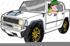 Hummer Limo Clipart Image
