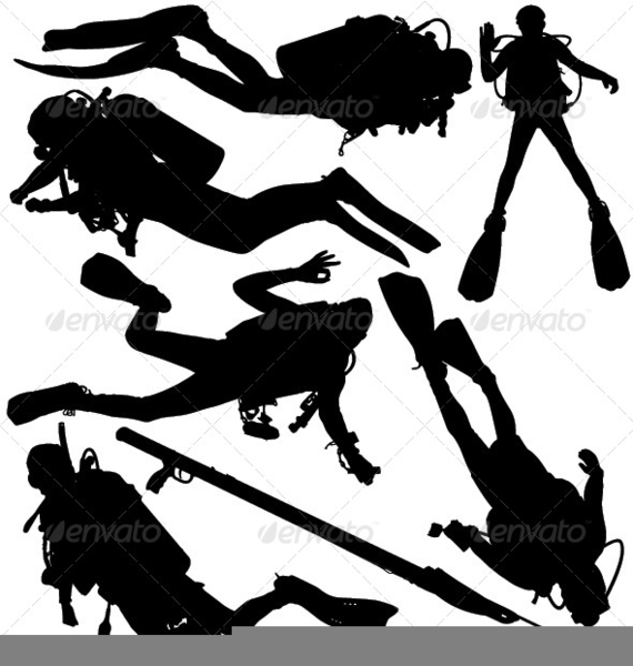 Scuba Diver Free Clipart Free Images At Clker Com