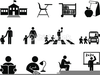 Back To School Clipart Black And White Image