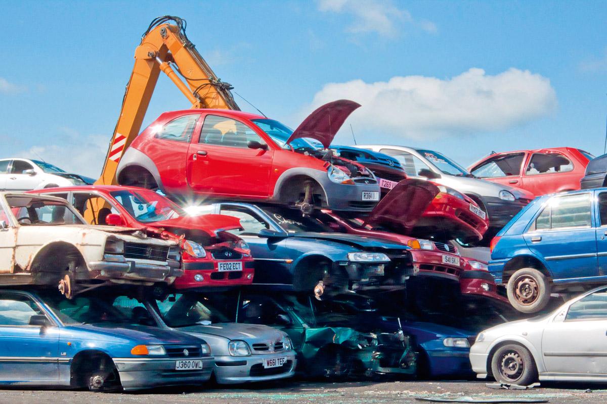 Cloned Cars Scrap Yard Free Images At Clker Com Vector