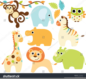 Animal Baby Clipart Jungle Image