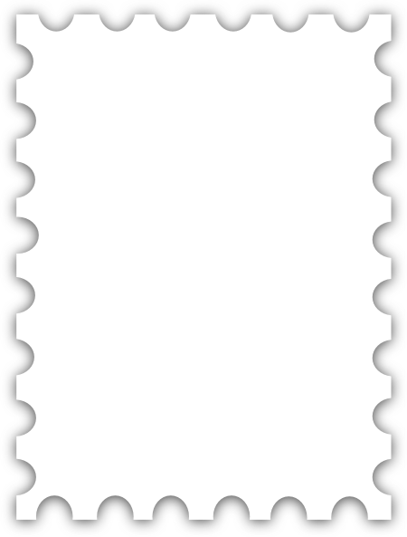 Exceptional Blank Postage Stamp Template Dedicated To Susi Tekunan By R.d. Miccahofman  Clip Art At Clker.com   Vector Clip Art Online, Royalty Free U0026 Public Domain