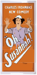 Charles Frohman S New Comedy, Oh, Susannah! 3 Clip Art