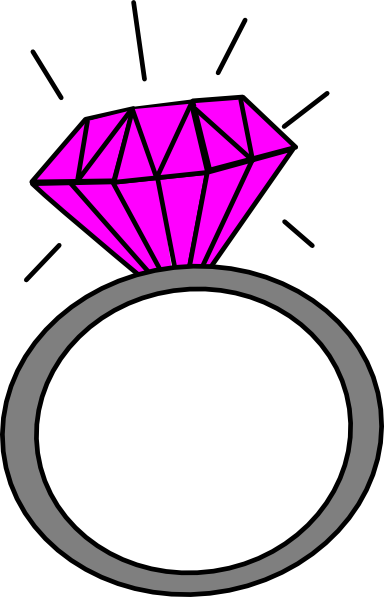 download this image as - Wedding Ring Clipart