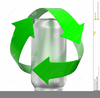 Recycle Cans Clipart Image