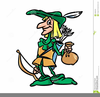 Robin Hood Character Clipart Image