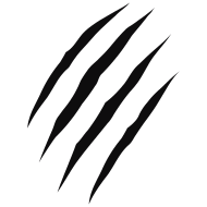 claw marks that represents numbers pictures to pin on claw marks clip art black and white claw marks clip art black and white