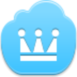 Free Blue Cloud Crown Image