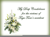 Condolences Message Image