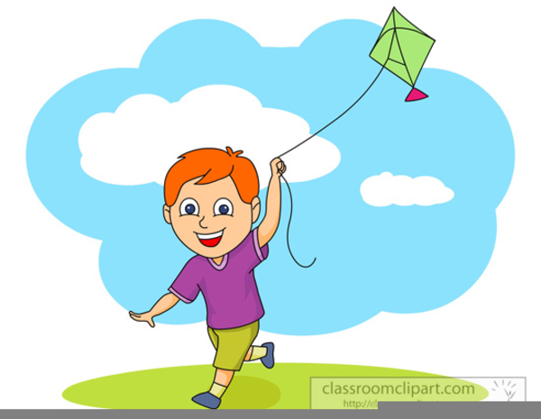 children flying kite clipart free images at clker com kite clip art free kites clip art st patricks day