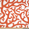 Coral Print Fabric Image