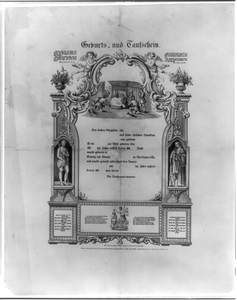 Certificate Of Birth And Baptism Image