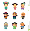 Ancient Chinese Woman Clipart Image