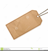 Blank Price Tag Clipart Image