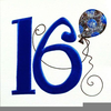 Free Happy Th Birthday Clipart Image