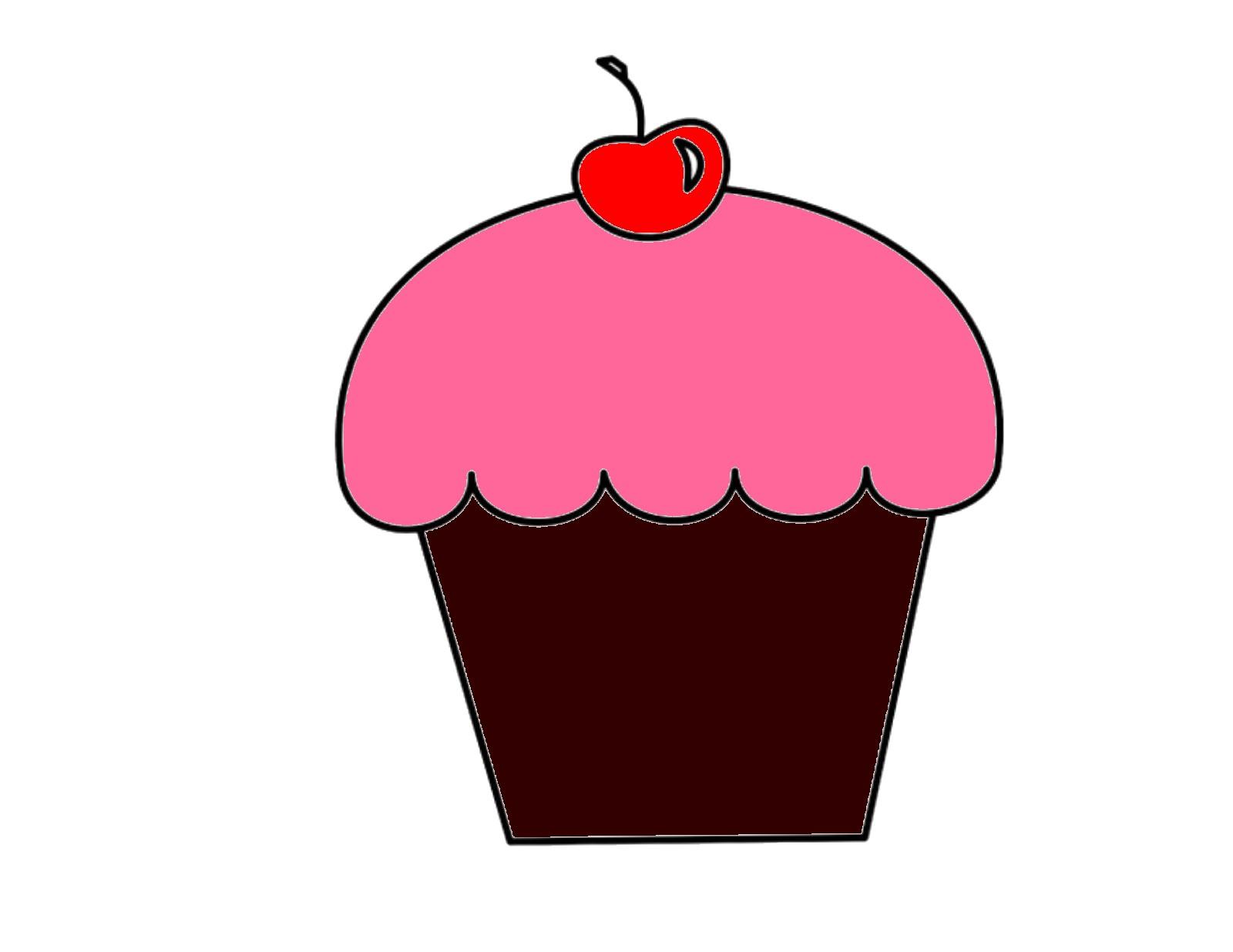 Cupcake | Free Images at Clker.com - vector clip art ... Cartoon Cupcakes Clipart