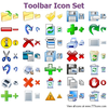 Toolbar Icon Set Image