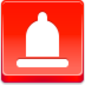 Free Red Button Icons Condom Image