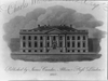 Front View Of The President S House Image