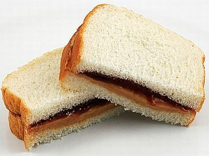 Peanut Butter And Jelly Sandwich Image