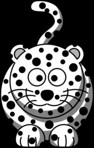 Leopard Clip Art at Clker.com - vector clip art online ...