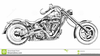 Motorcycle Engine Clipart Image