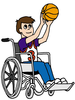 Clipart About Wheelchair Image